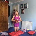 Pleased with her Garmin Vivofit Jr.<br/>25 Jul 2018