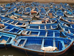blue boats ( explored ) photo by mujepa