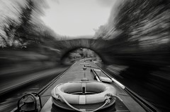 Long exposure on a Narrowboat photo by dean.cummings