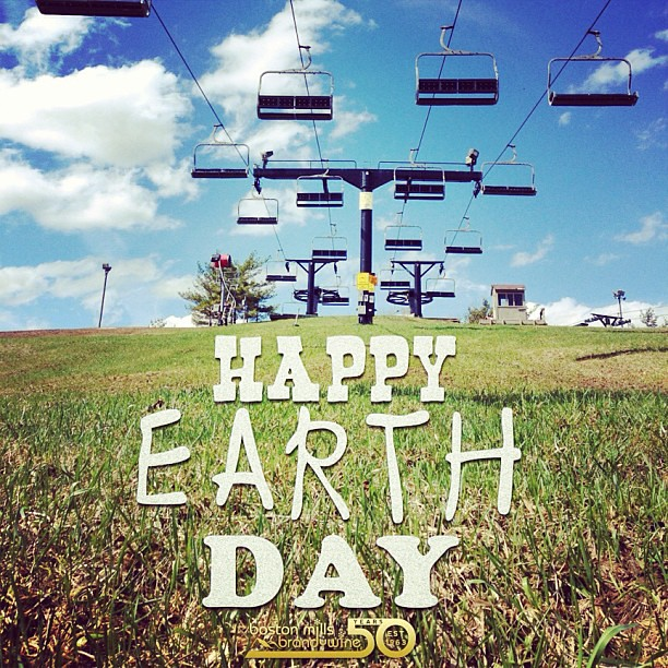Happy Earth Day from the hills of BMBW.