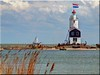 The lighthouse of Marken / Holland - Paard van Marken photo by Ostseetroll