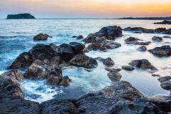 Beomseom Island, Sunset #2, Jeju photo by eric_hevesy