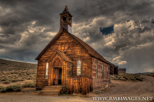 Bodie Methodist Church photo by Bob Bowman Photography