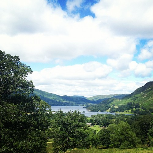 Another stunning day walking in the lakes #c2c #ullswater