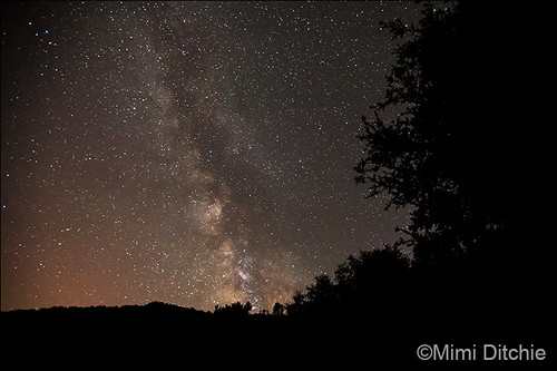 The Milky Way Over See Canyon photo by Mimi Ditchie