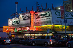 Coney Island Nathan's Famous photo by drpavloff