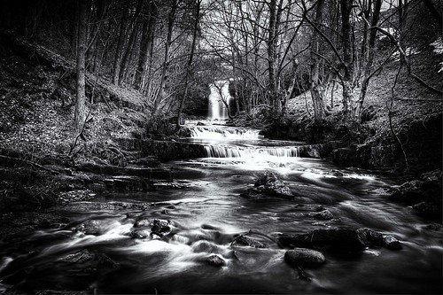 Downstream from Summerhill Force photo by Ross Magrath