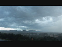 Lightning Strike Thunderstorm July 19, 2012 - Storm Video Roanoke VA Terry Aldhizer photo by Terry Aldhizer