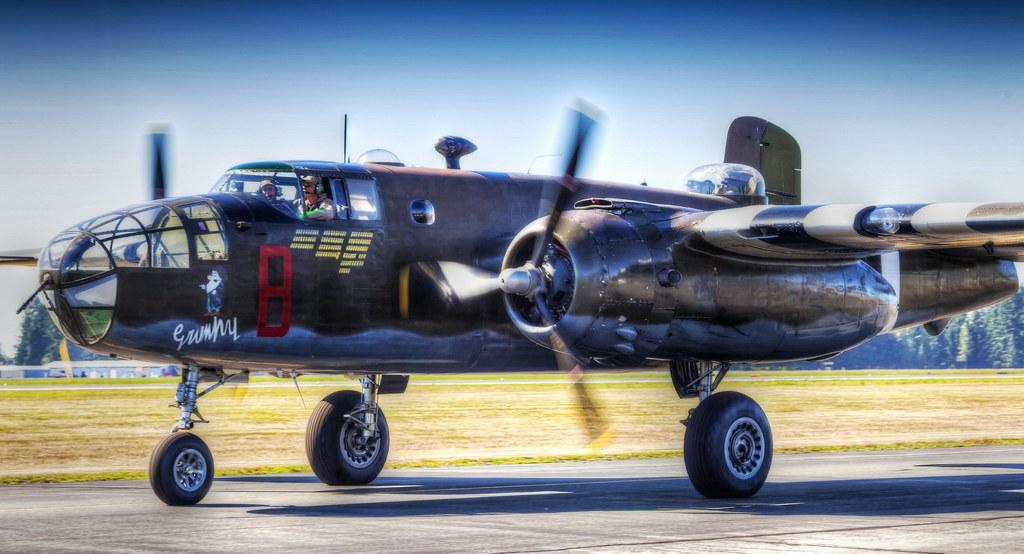 Dan King Images / HDR / B-25 Grumpy photo by Dan King Images