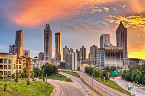 Colorful Atlanta | EXPLORED Front Page photo by Ton Ten