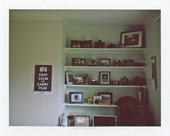 moving in to my new space, fuji fp-100c. photo by tumbleweed.in.eden