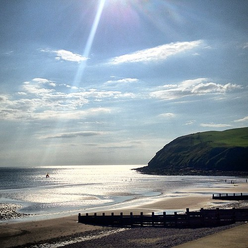 England's west coast (St Bees). Tomorrow we start the 320km walk to the east coast