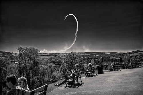 red arrows from brandon hill photo by Tristan Styles
