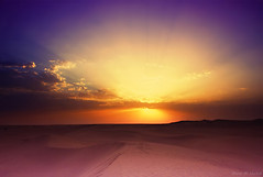 Desert Sunset photo by mzna al.khaled