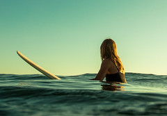 waiting for her last wave of the day photo by Laurent_Imagery