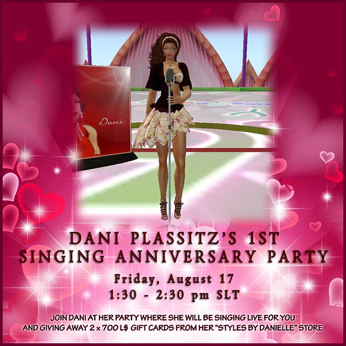Dani's 1st Singing Anniversary Party