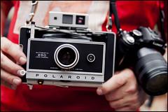 Polaroid goodness! photo by Eric Flexyourhead