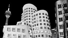 Gehry Düsseldorf B/W photo by _flowtation