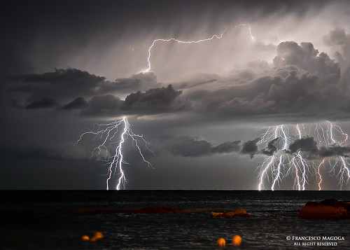 Sudden lightning storm, it all started with a spark photo by Francesco Magoga Photography