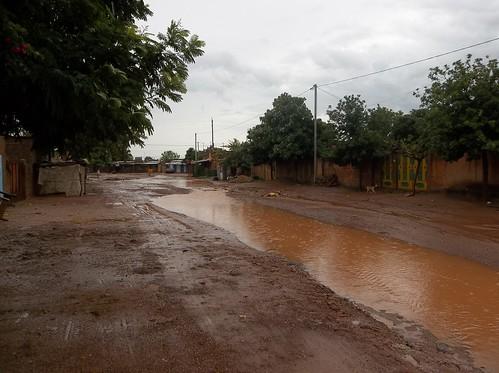 Street of Ouagadougou