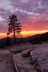 Beetle Rock Sunset #2, Sequoia National Park photo by flatworldsedge