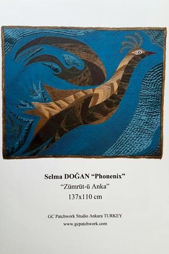 <b>Avrupa Patchwork Şampiyonası</b><div>Selma Doğan &quot; Phoenix &quot;</div>