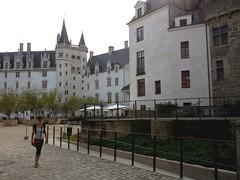 la cour du château