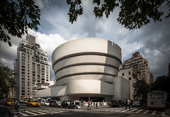 The Solomon R. Guggenheim Museum photo by Chimay Bleue