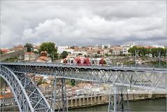 Tram on Luis Bridge | Porto, Portugal photo by Stefan Cioata