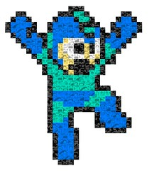 Megaman Pixelfaces photo by Gwendal_