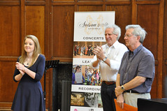 Avison Ensemble: Benjamin Zander music interpretation workshops, Day 2, Tuesday 14 August 2012, King's Hall, Newcastle University photo by Avison Ensemble