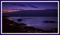 A Purple Sunset photo by Marc Geuzinge Photography