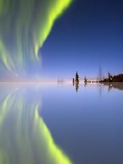 Aurora Mirrored photo by Ed Boudreau