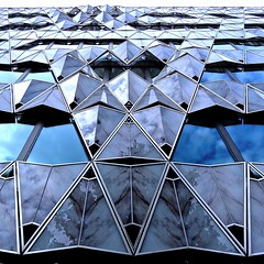 Origami building, Barclays headquarters, Paris, France photo by Ken Lee 2010