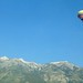 Hot air above Jackson Hole Mountain Resort