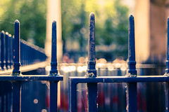 day 347 - beyond these gates lies bokeh photo by AlexTurton
