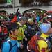 Départ de l'UTMB 2012 (Ultra-Trail du Mont Blanc)