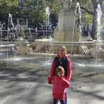 The new fountains in Leicester  square look ace<br/>22 Sep 2012