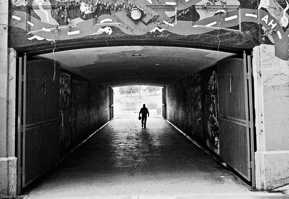 The gate keeper photo by Street Vision L.A.