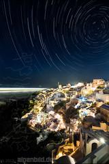 Santorini Startrails photo by alpenbild.de