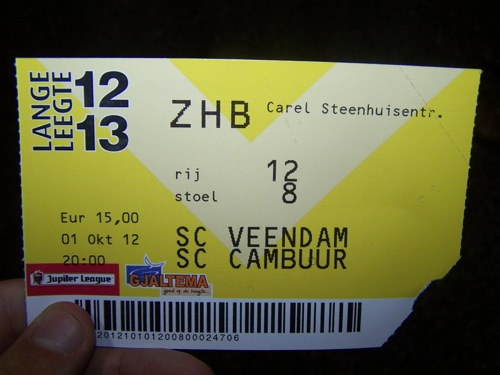 8046440617 d9d8600f56 SC Veendam   SC Cambuur Leeuwarden 1 1, 1 oktober 2012