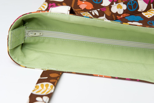 Recessed Zipper Shoulder Bag Tutorial – Shoulder Travel Bag