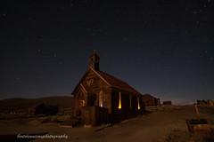 the Methodist church-Bodie Ghost town photo by bertdennisonphotography