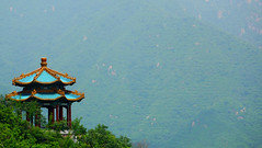 Traditional Pagoda: View from the Great Wall photo by _chrisUK