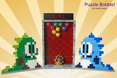 Puzzle Bobble! photo by - Derfel Cadarn -