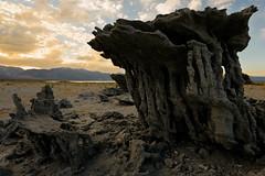 Sand Tufa at Navy Beach photo by Tōn