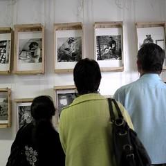 Exposition à Puy-Sanières photo by Denis Lebioda