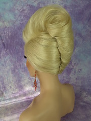 BLONDE BEEHIVE FRENCH TWIST 5 photo by mgwigs4u