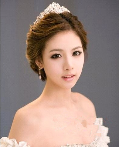 Bride and Hair style