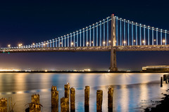 The Bay Lights - Art on San Francisco Bay photo by Darvin Atkeson